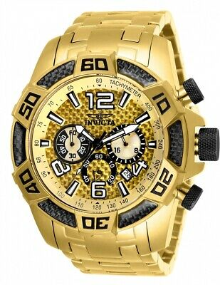 Invicta Men's 25854 'Pro Diver' Scuba Gold-Tone Stainless Steel Watch