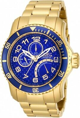 Invicta Men's 15342 'Pro Diver' Multi-Function Gold-tone Stainless Steel Watch