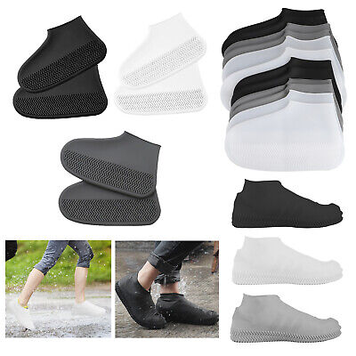 US/_ Universal Silicone Waterproof Shoe Cover Outdoor Hiking Skid-proof Shoe Cove