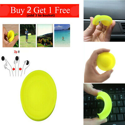 Hot Zip Flying Disc Chip Mini Pocket Flexible UFO Saucer Spin in Catching Game