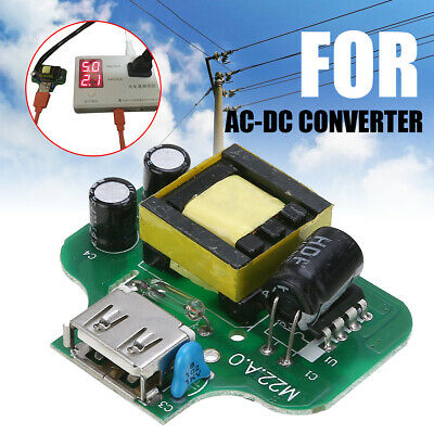 1Pcs AC-DC Converter AC 110V 220V 230V to 5V 2.1A Pad Phone USB Charger Module