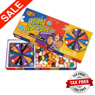 Jelly Belly Bean Boozled With Spinner Wheel Game 4Th Edition, 3.5 Oz NEW Sealed