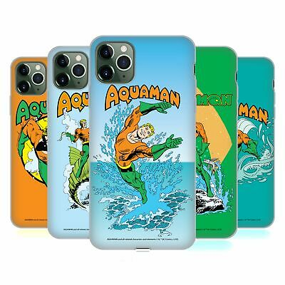 OFFICIAL AQUAMAN DC COMICS FAST FASHION SOFT GEL CASE FOR APPLE iPHONE PHONES