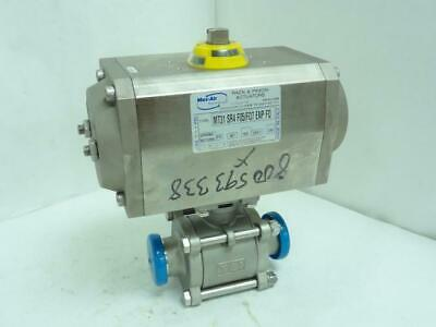 """159047 New-No Box, TCI 14545007 Actuated Sanitary Valve SS-316, Size: 1-1/2"""""""