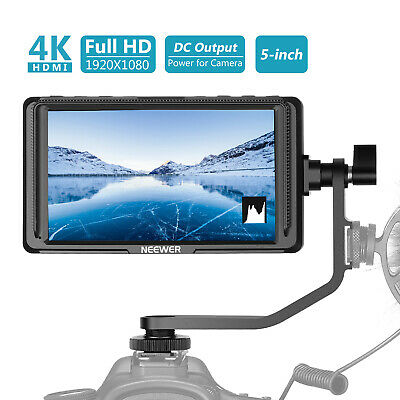 5 Inch Camera Field Monitor Full HD1920x1080 IPS (Battery Not Included)