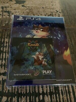 Furwind Limited Edition Playstation 4  EastAsiaSoft Limited Run Sealed SoldOut