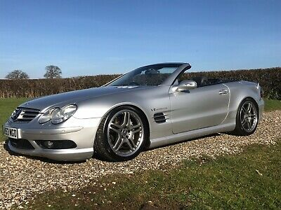 Mercedes Sl55 amg kompressor Convertable Cabriolet - no reserve auction