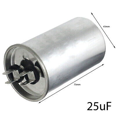 25UF 25MFD AC start run motor capacitor 450v for Household Appliance + Machinery