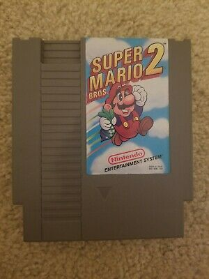 Super Mario Bros. 2 For The Nintendo NES In Excellent Working Condition