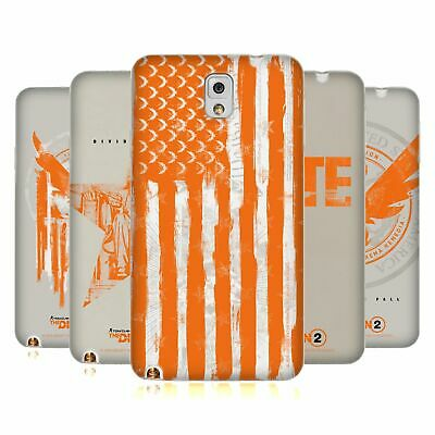 Official Tom Clancy's The Division 2 Key Art Soft Gel Case For Samsung Phones 2