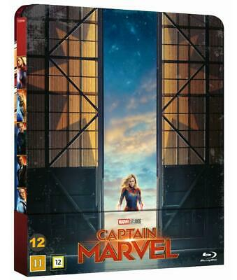 Captain Marvel Limited Edition Steelbook 1-Disc Blu Ray (PRE-ORDER 19.JULY)
