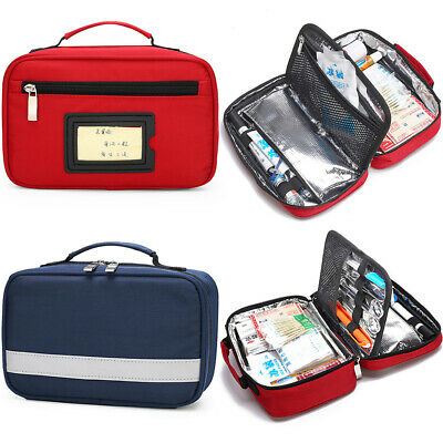 Portable Insulin Cooler Bag Travel Diabetic Medical Organizer Medication Cases