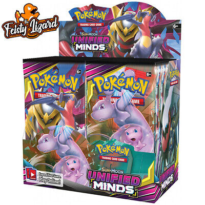 Pokemon TCG Sun & Moon Unified Minds Booster Box (PREORDER)