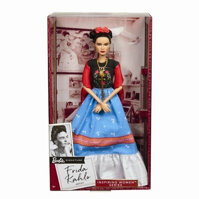 Frida Kahlo Mattel Barbie Doll Inspiring Women Series Mexican Artist Khalo NEW