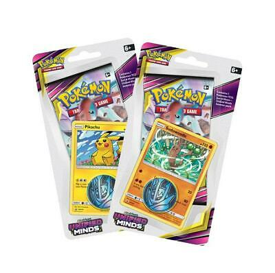 Pokemon TCG Sun & Moon Unified Minds Checklane Blister (PREORDER)