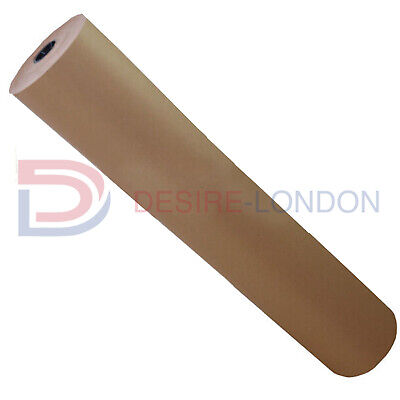 ***BEST QUALITY** 750mm x 25M Strong Brown Kraft Wrapping Paper 88gsm