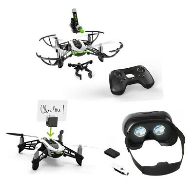 Mambo Mission Parrot + FPV Pack FPV-Kamera + Cockpitglasses 2 + Akku Bundle