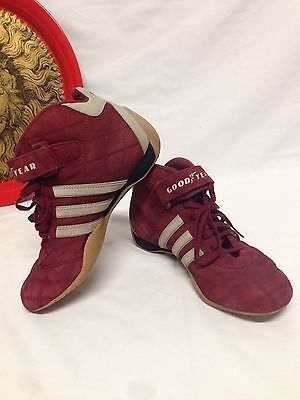 tout neuf 0ebe6 23239 ADIDAS GOODYEAR MONACO GP Women's High Top Driving Shoes 538601 US Size 5.5
