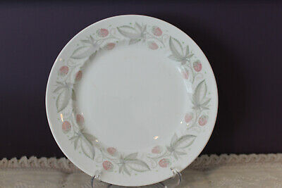 "Susie Cooper Wild Strawberry 8-1/4"" Luncheon Plate"