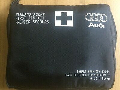 Genuine Audi In Car Compact First Aid Kit Sterile Date 12-2021 A5 S3 A4 Q3 TT A6