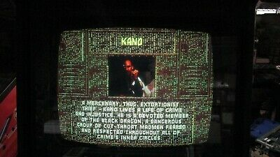 Used Midway Mortal Kombat Jamma Arcade Game Board Tested Works Lines in Video