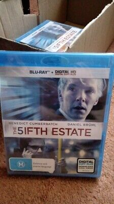 The Fifth Estate    (Blu-ray)  - Region Free [New & Sealed]