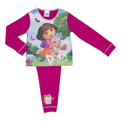 Dora the Explorer Infant Girls Pyjamas Various Designs - 18 months to 5 years