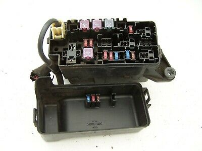 Daihatsu Fourtrak Fuse Box | Repair Manual on
