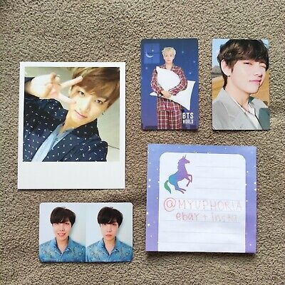 BTS photocard official love yourself tear world ost coupon code