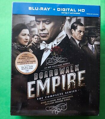 Boardwalk Empire: The Complete Series (Blu-ray Disc, 2015, 19-Disc Set NEW