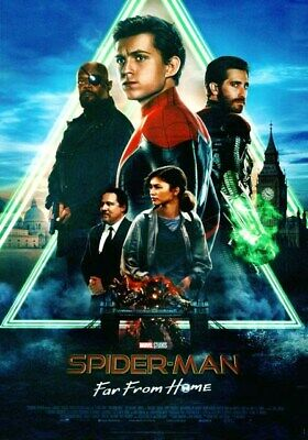 Spider-Man Far From Home (2019) Poster originale italiano 70x100 cm NON PIEGATO