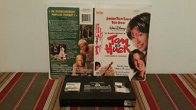 Tom and Huck (VHS, 1996, Clam Shell) tape & clamshell FRENCH rental