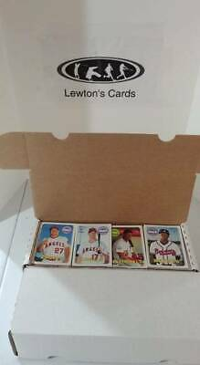 2018 Topps Heritage Baseball Complete Set 1-725 With Sp's Trout Acuna Soto ++