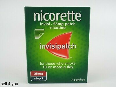 Nicorette Invisi Patch 25mg Step 1 - Pack Of 7 Patches