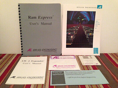 AW 2 Expander chip board - inserts- manuals & more