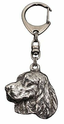 KEYRING Welsh Springer Spaniel Dog Pup Tag UK Disc  incls Personalised Engraving