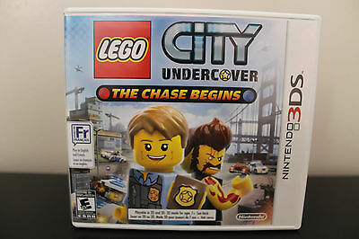 LEGO City Undercover: The Chase Begins  (Nintendo 3DS, 2013) *Tested/Complete