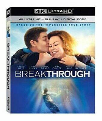 Breakthrough [New 4K Ultra HD] With Blu-Ray, 4K Mastering, Dolby, Digital Thea