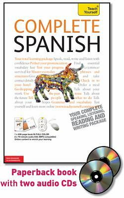 Complete Spanish with Two Audio CDs: A Teach Yourself Guide (Teach Yourself Lang