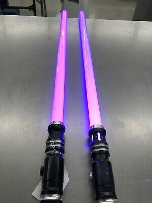 2 Ultrasabers Lightsabers, One with Sound, One without-Free Shipping