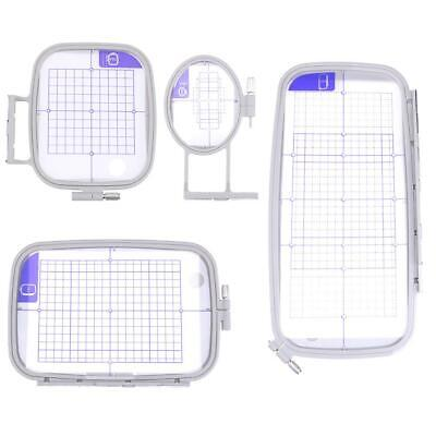 Multi Function Embroidery Frame Craft Cross Stitch Needlework Sewing Hoop Set