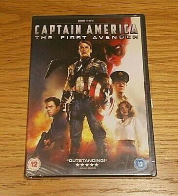 Captain America - The First Avenger Dvd (R2/Pal) **Brand New & Sealed/Free P&P**