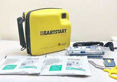 Laerdal Philips Fr2+ Defib Aed Heartstart + New Sealed 2020 Battery 2 Sets Pads