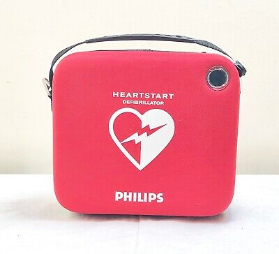 Philips Hs1 Heartstart Defib Aed  + 2022 Battery 07/2020 Pads Cartridge Fr2+