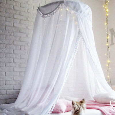 Baby Mosquito Net Princess Lace Cot Canopy Bedcover Curtain Bedding Dome Tent