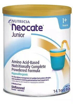 9 Cans Of Neocate jr Unflavored