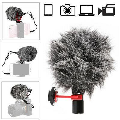 Professional Cardioid Microphone with Shock Mount Mic Compact Size For DSLR DC83