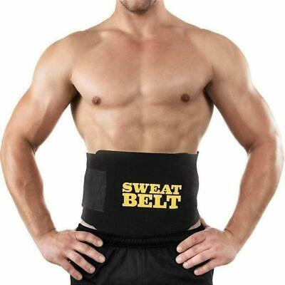 Waist Sweat Trainer Shaper Belt Back Band Body Vest Belly Trimmer Women Men
