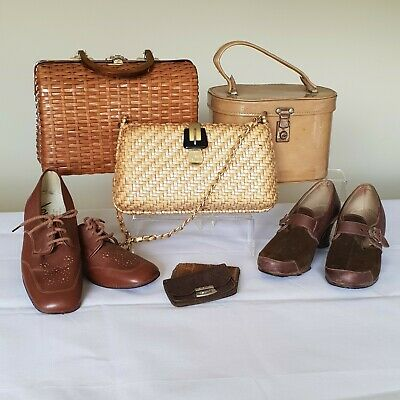 Vintage Lot Of Accessories Lot 1 - Brown