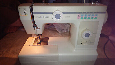Janome Electric Sewing Machine (240V) with Zipped Carry Case